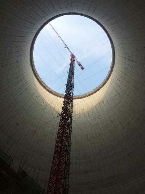 国投新集电力利辛板集电厂#1冷却塔主吊机械21cj290